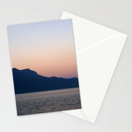 Dawn in Montreux Stationery Cards