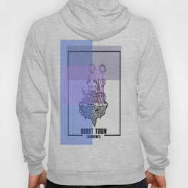 Robot Town color Hoody