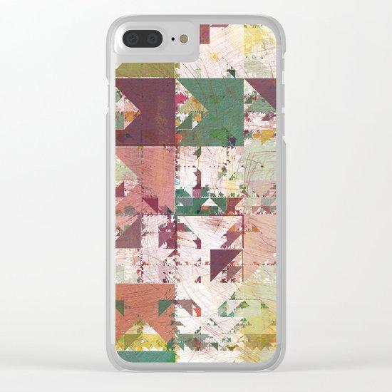 Aztec Vintage Pattern 12 Clear iPhone Case