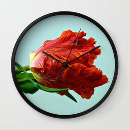 American Tulip Wall Clock