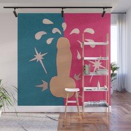 Felt Penis: Zing Wall Mural