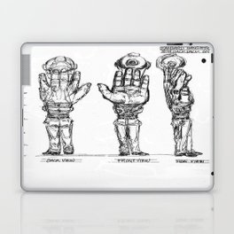 HEM With Backpack Laptop & iPad Skin