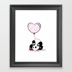 Lovely Panda Framed Art Print