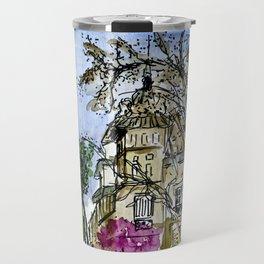 Plaça de la Virreina, Barcelona Travel Mug