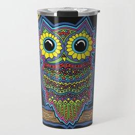 Rainbow Owl Travel Mug