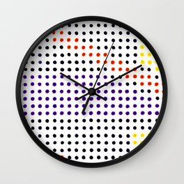 Spy Glass Wall Clock