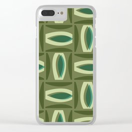 Alcedo - Green Clear iPhone Case
