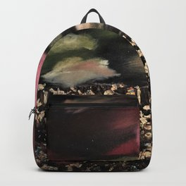 Fields of Gold - Surreal starry night Backpack