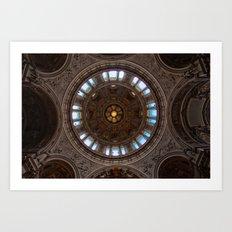 Berliner Dome Art Print