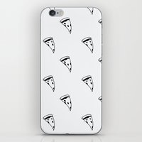 pizza iPhone & iPod Skins featuring Pizza by annies