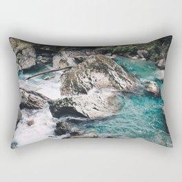 Glacial River Rectangular Pillow