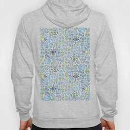 Magical Crystals - Illustration Pattern Hoody