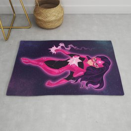 With Violet Light / Star Sapphire Rug