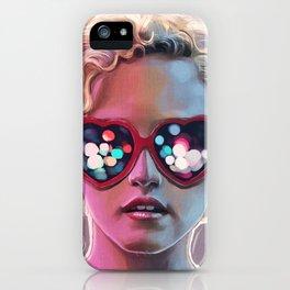 Electrick Girl iPhone Case