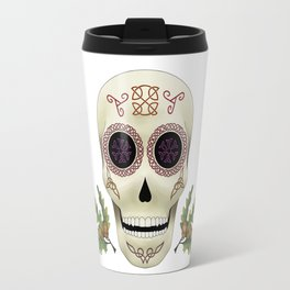 Knotwork Skull Travel Mug