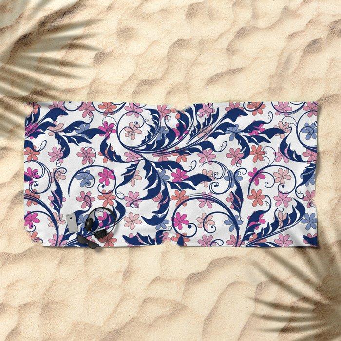 tas7 Beach Towel
