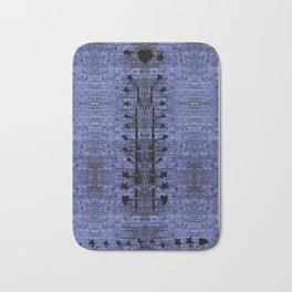 blue crocodile chakras Bath Mat