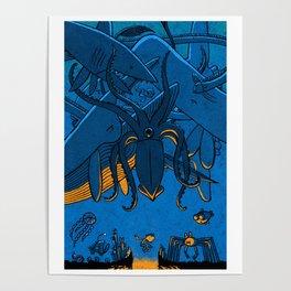 Falling (Deep Sea) Poster