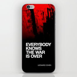 Everybody Knows iPhone Skin