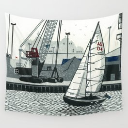 Poole Quay Wall Tapestry