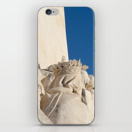 Monument of the Discoveries detail iPhone Skin