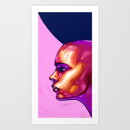 Noise - Ver.2 Dots Art Print