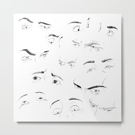 Eyes / Occhi Metal Print