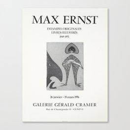 Advertisement max ernst estampes originales Canvas Print