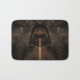 Force of light through the dark side Bath Mat