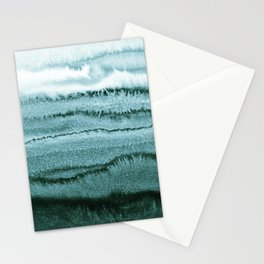 WITHIN THE TIDES - OCEAN TEAL Stationery Cards