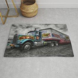 American Circus Truck Rug