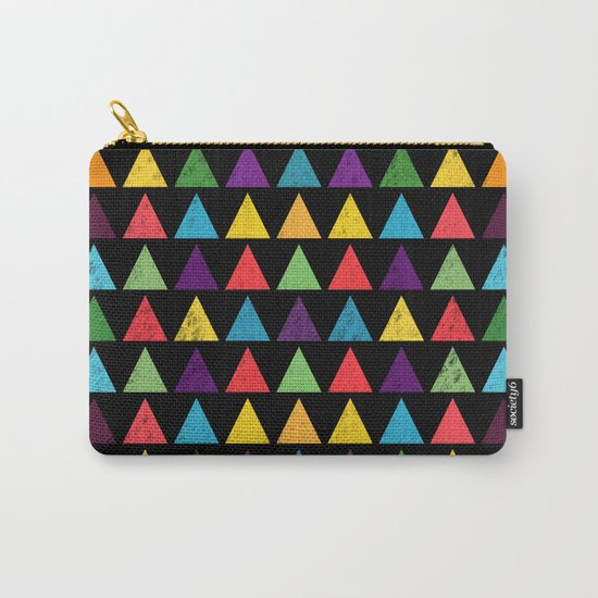Lovely geometric Pattern VV Carry-All Pouch