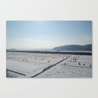 korea Canvas Prints featuring North Korea by Lucy