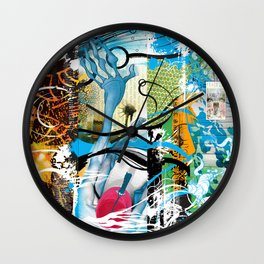 Exquisite Corpse: Round 2 Wall Clock