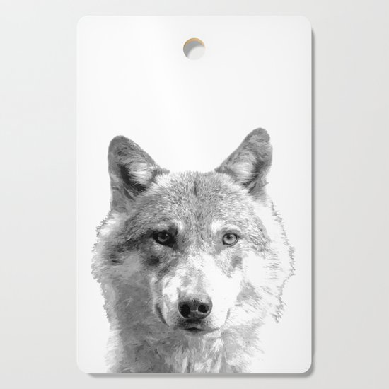 Black and White Wolf by alemi