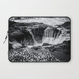 Thor's Well, No. 3 bw Laptop Sleeve