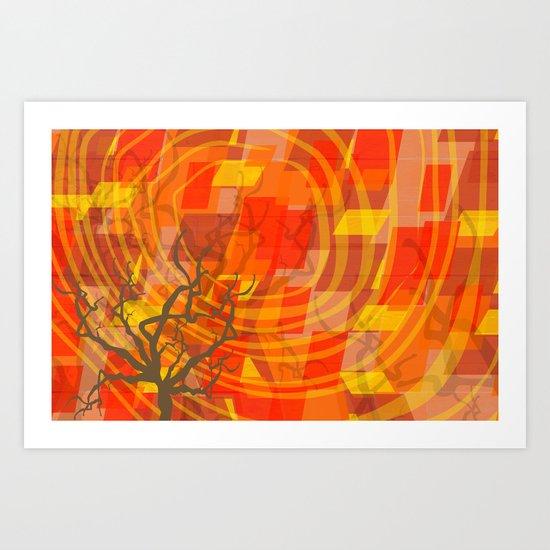 Ode to Autumn Art Print