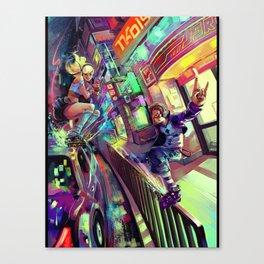 FRUITS CLiPPER Canvas Print