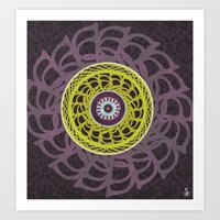 "Circular Patterns- ""S"" Art Print"