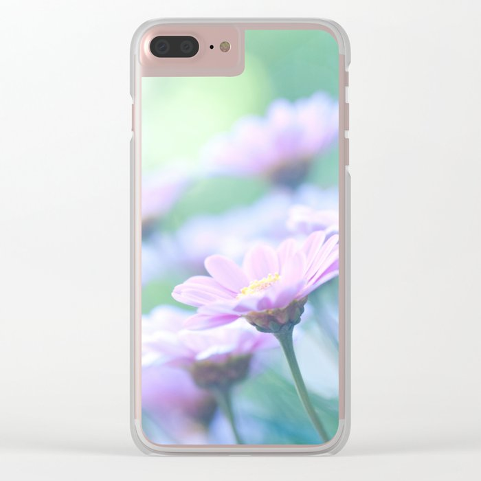 Soft Pink Marguerite Daisy Flower #2 #decor #art #society6 Clear iPhone Case