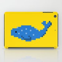 8 bit iPad Cases featuring 8-bit Seal by Ria Pi