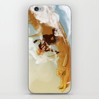 dungeons and dragons iPhone & iPod Skins featuring Dragons and Direction: Niall by invisibleinnocence