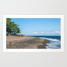 Pointed East (Filipino Traditional Kayak) Art Print