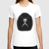 vendetta T-shirts featuring V for Vendetta (e7) by Ezgi Kaya