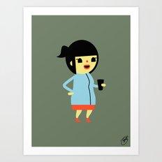 Anna (Alt) Art Print