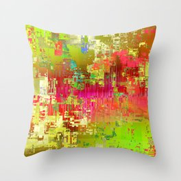 oooh la la. summertime loves Throw Pillow