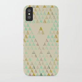 Triangle Lake iPhone Case
