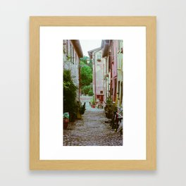Street of Ostia Framed Art Print