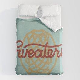 Sweaters Duvet Cover