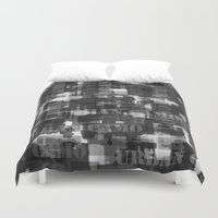 camo Duvet Covers featuring Urban Camo by Dood_L